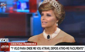 Estreia polémica de Cristina Ferreira na SIC