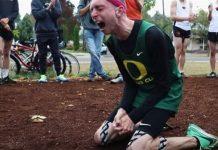 Atleta com paralisia cerebral
