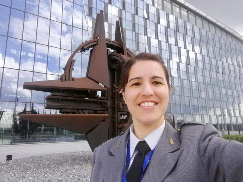 portuguesa a ser presidente de comité na NATO