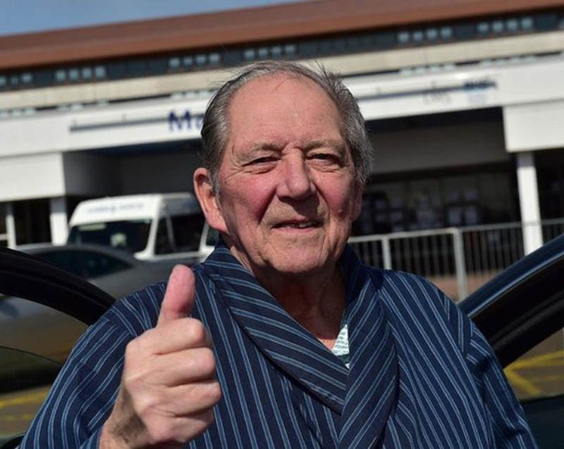 idoso vence cancro duas vezes e derrota o coronavírus